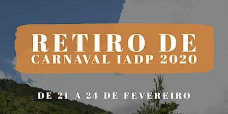 Retiro de Carnaval IADP 2020 billets