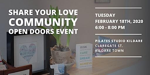 Share Your Love: Open Doors Community Event
