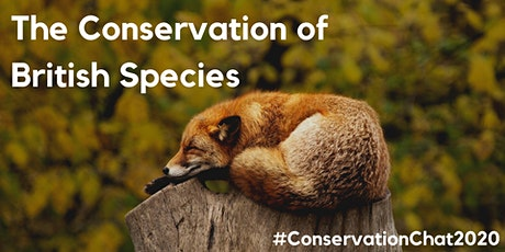 Conservation Chat 2020 tickets