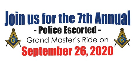 7th Annual Grand Master's Ride tickets