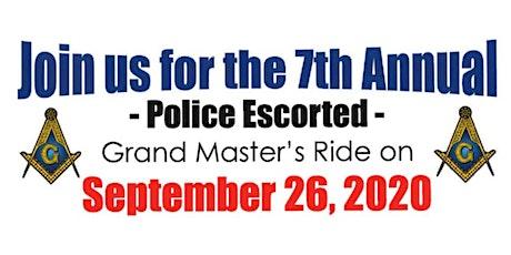 7th Annual Grand Master's Ride tickets
