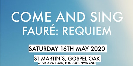 Come and Sing: Fauré Requiem tickets