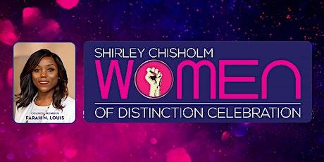 2020 Shirley Chisholm Women of Distinction Awards tickets
