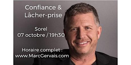 SOREL - Confiance / Lâcher-prise 15$   tickets