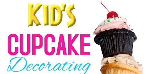 Kid's Cupcake Decorating Challenge