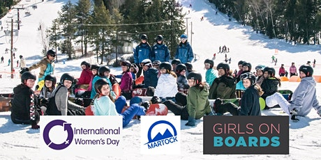Girls on Snowboards - International Women's Day Martock Photo Celebration! tickets
