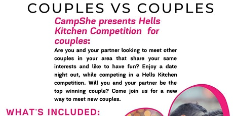 Couples Vs Couples - Hells Kitchen Competition tickets