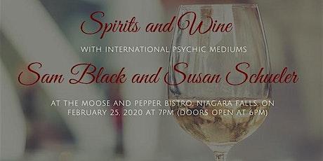 Spirits and Wine: International Psychic Mediums, Sam Black & Susan Schuler tickets