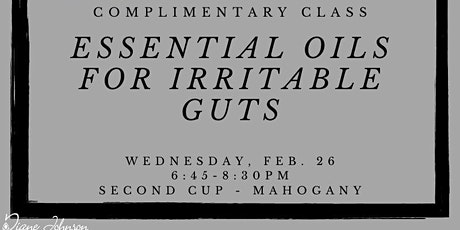 Essential Oils for Irritable Guts tickets