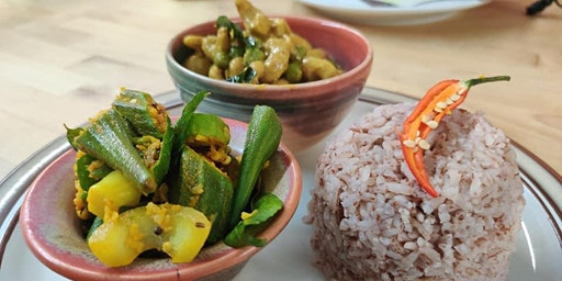 Nantha's cooking class 4: South Indian and Sri Lankan Veg