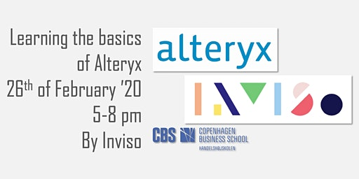 Learning Alteryx w/Inviso