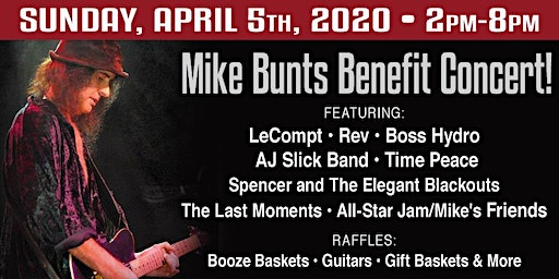 Benefit for Mike Bunts