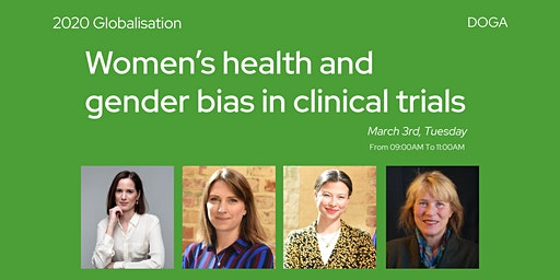 DGF2020//Women's health and gender bias in clinical trials