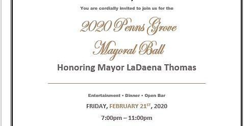 Penns Grove Mayors Ball Penns Grove