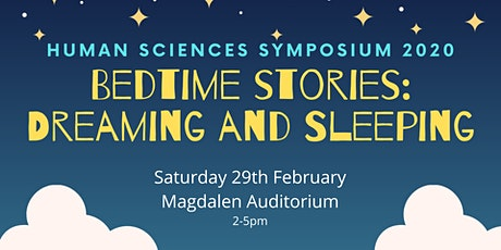 Bedtime stories: Dreaming and sleeping // HS Symposium 2020 tickets
