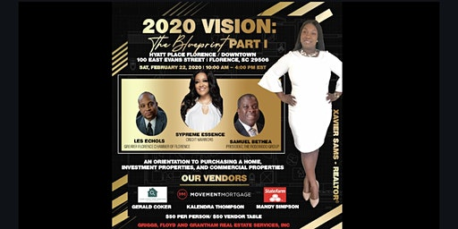 2020 Vision: The Blueprint Part I