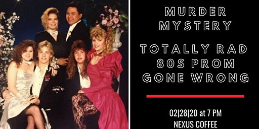 Murder Mystery at 80s Prom