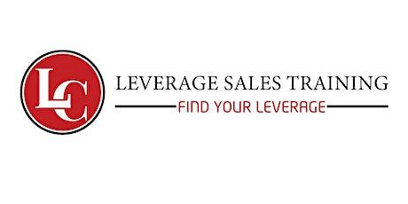 Leverage Sales Training - Sales Performance & Leadership Forum tickets