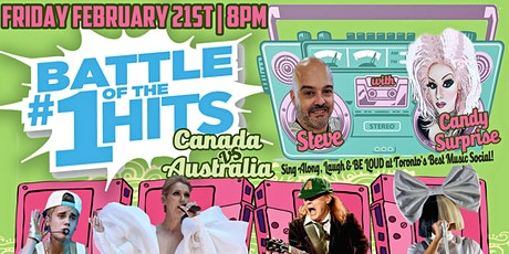 Battle of the #1 Hits - Canada Vs Australia! tickets