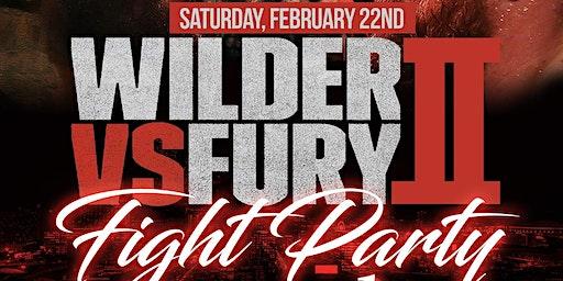 FREE FIGHT PARTY WILDER VS FURY II