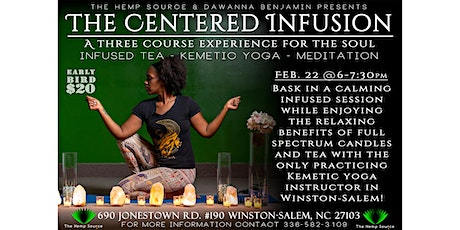The Centered Infusion tickets