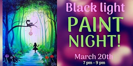 Black Light Painting| Alice in Wonderland tickets