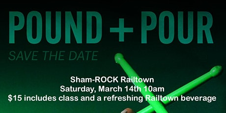 Sham-ROCK POUND and Pour at Railtown Brewing Company tickets