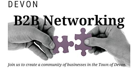 Devon B2B Networking Evening - March  tickets