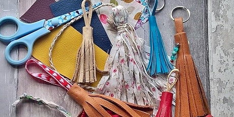 NEW! Crafting for Adults, Leather Tassel Keyring Workshop tickets