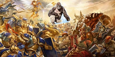 """DFW Age of Sigmar Tournament - """"The Hunt for Harambe"""""""