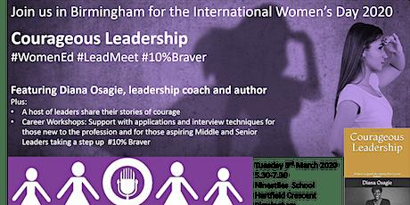 #WomenEd Birmingham  Courageous Leadership tickets