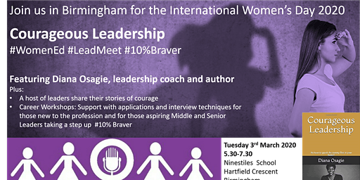 #WomenEd Birmingham  Courageous Leadership