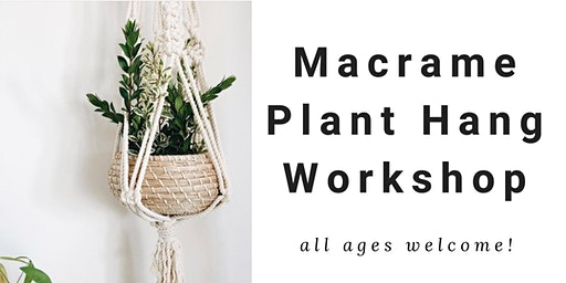 Macrame Workshop at Dare to DIY OC