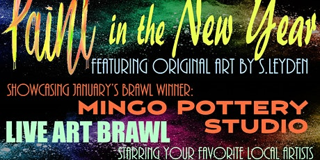 Paint in the New Year: Closing Night & Art Brawl tickets