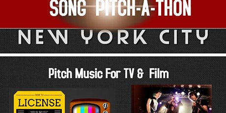 SONG PITCH-A-THON 2020: Pitch Songs For TV Film & More tickets