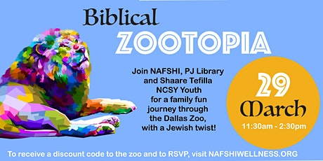 Biblical Zootopia tickets