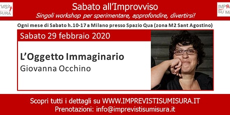 Workshop - L'Oggetto Immaginario - Improvvisazione Teatrale tickets