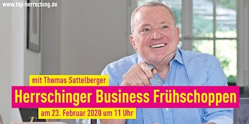 FDP Business Frühschoppen mit Thomas Sattelberger