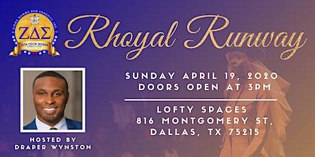 Rhoyal Runway Fashion Show tickets