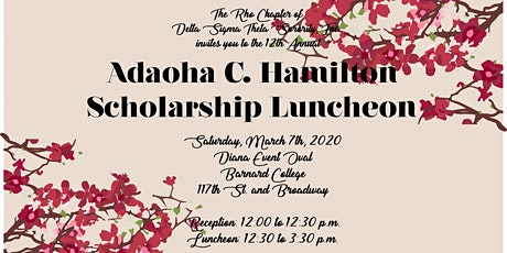 The 12th Annual Adaoha C. Hamilton Luncheon tickets