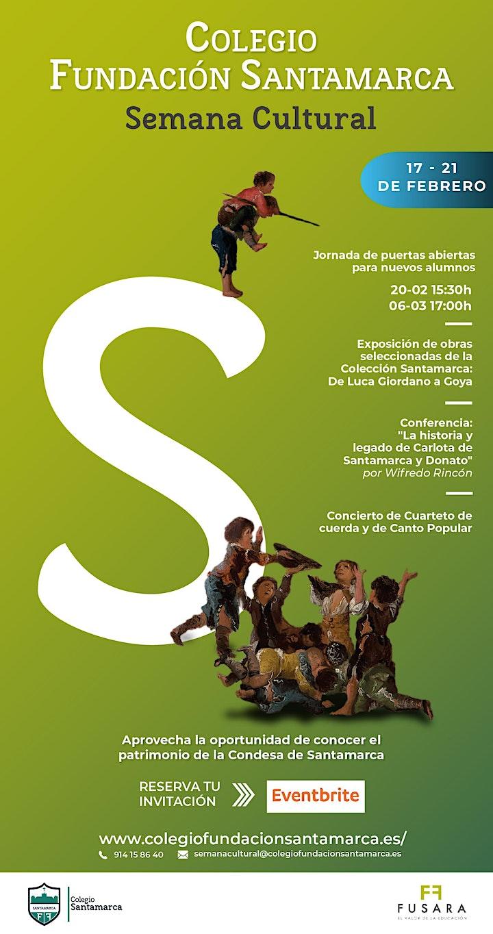 Imagen de Exposición obras seleccionadas Col. Santamarca: De Luca Giordano a Goya