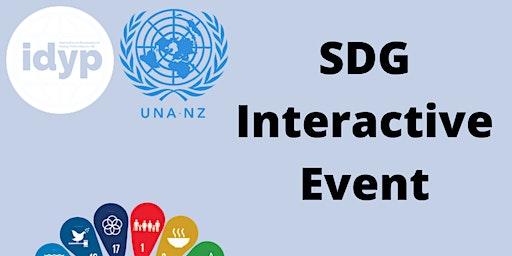 IDYP x UNANZ: SDG Interactive Event