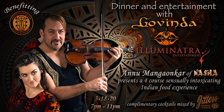 Indian soul food dinner and entertainment with Govinda benefitting HAAM tickets