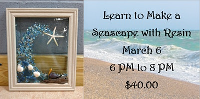 Learn to Make a Seascape with Resin