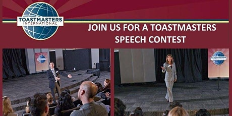 D40 Toastmasters - Combined Area (C21-C25) Speech Contests tickets