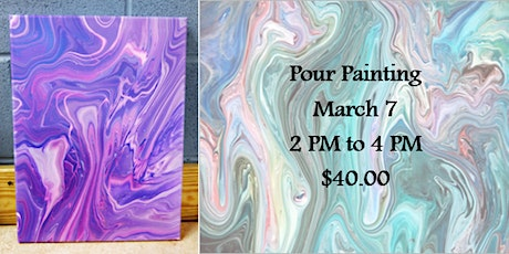 Pour Painting tickets