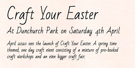 Craft Your Easter tickets
