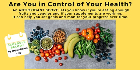 Take Control of Your Health with Antioxidant Score! tickets