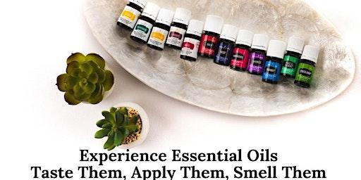 Essential Oil Sip & Sniff Getaway