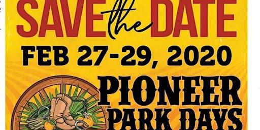 Pioneer Park Days 2020